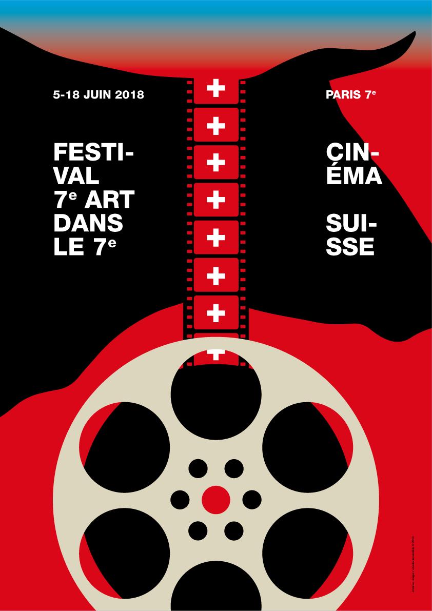 Affiche de cinéma design Suisse Agence Si _ Jerome LINIGER Affiche_1-11