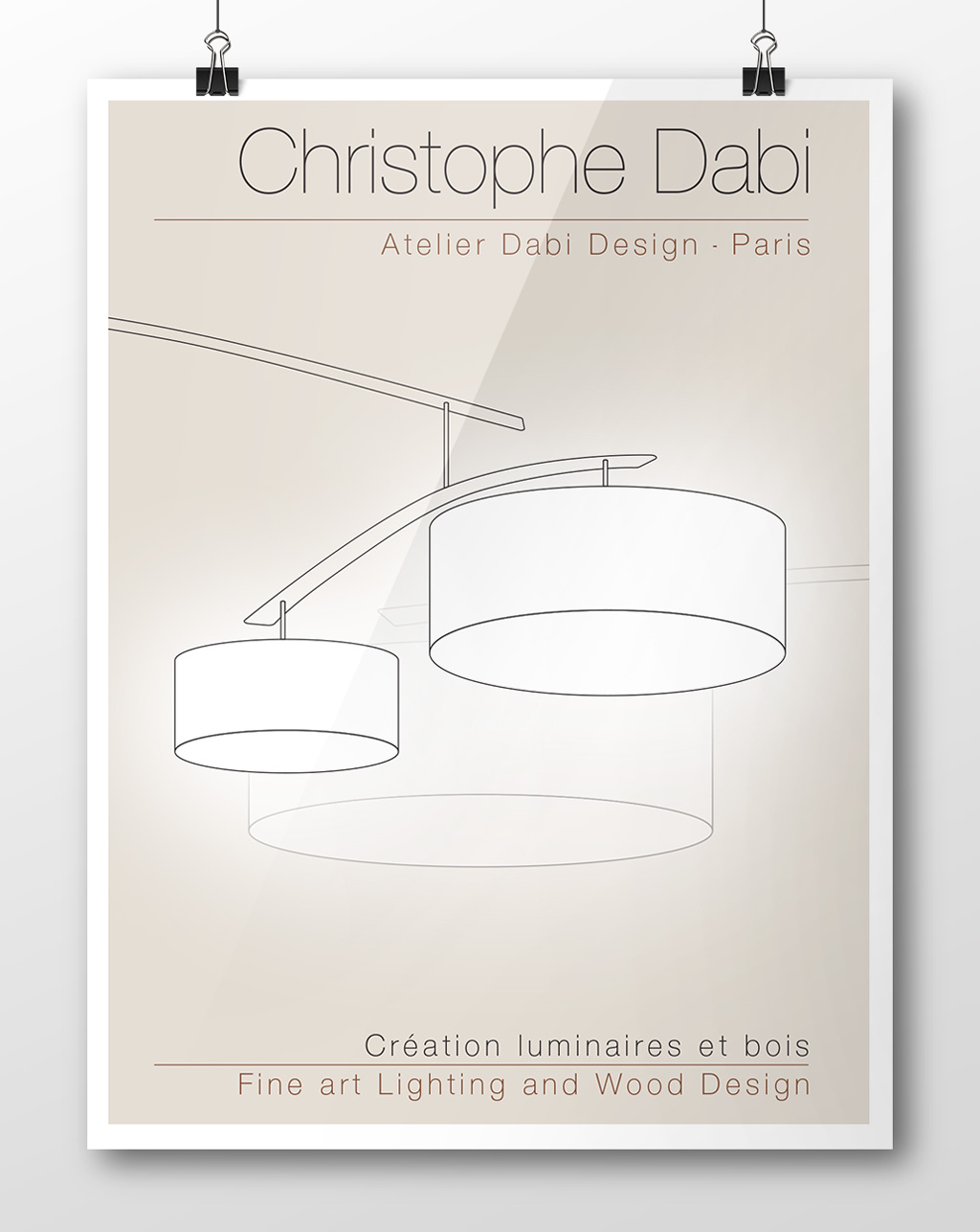 Plaquette de présentation Dabi Design Agence-Si Studio irresistible Paris Graphique Design