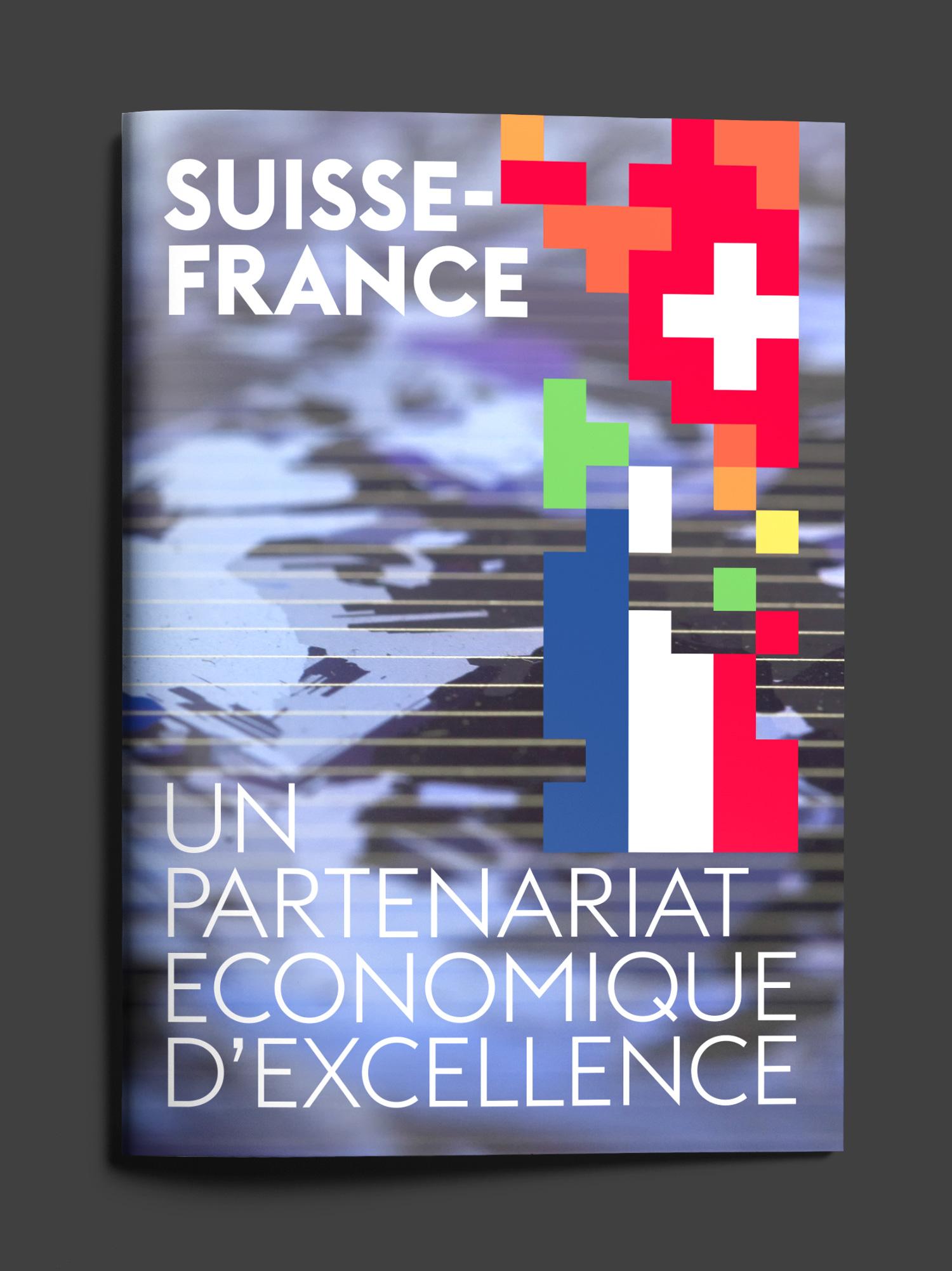Brochure Ambassade de Suisse en France - Design Agence Si - Studio irresistible Paris